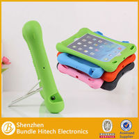 cute shockproof case for ipad air,stand silicon case for ipad air