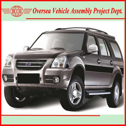 not fairly used suvs cars or suvs used car but Chinese new 4WD LHD diesel SUV for assembling in Africa
