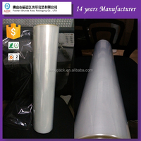 Center-folded pof shrink film, GUANGZHOU POF shrink hot film