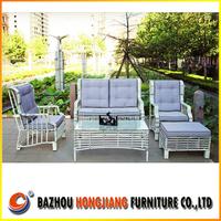 2015 New Outdoor Rattan Furniture/garden wicker sofa patio rattan sofa