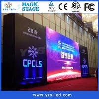 Rental advertising large led display for stadium and comference room