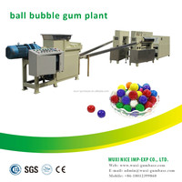 well-known colorful bubble gum production line