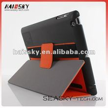 folio pu leather case for iPad 3 with voice gather