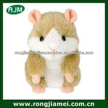 Cute Pet Speak Record Electronic Hamster Talking Mouse Plush Kid Toy