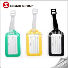 hard plastic tag wristband rfid plastic photo luggage tag