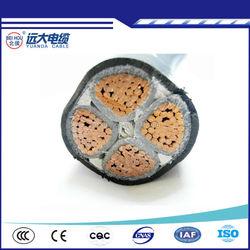 4 core copper cable XLPE insulation compound for 10KV