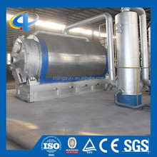 Waste Tire Pyrolysis Machine to Oil with Safe Device and Water Cooling System