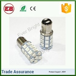 2015 Hot sell 1156 BA15S 5050 27 SMD Auto light Car Turn brake car led lamp,car led tuning light