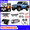 Running board Hood Front Grille front rear Bumper car accessories for jeep wrangler