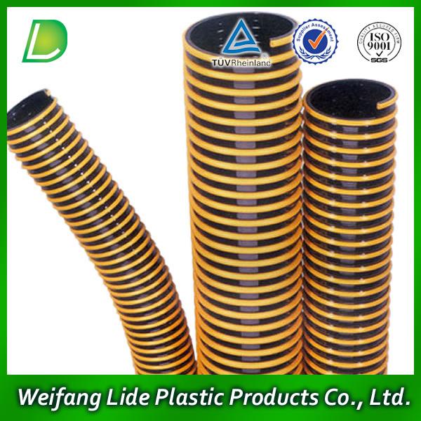 Inch pvc flexible suction hose pump irrigation