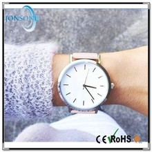 Vogue ultra thin leather stainless steel ladies watches 2014 watches high quality