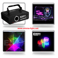 2015 newest 1w RGB Projector Christmas Lasers Light Stage effect equipment rgb animation disco laser show light for sale