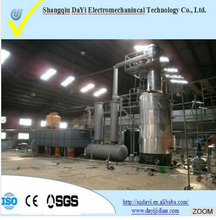 Hot Sale Black Used Lube Engine Oil Refinery Equipment With 90% Oil Output