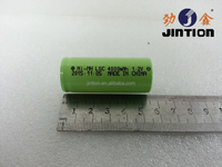Ni-Mh LSC 55mm Height 4000mAh 1.2v Rechargeable battery cell
