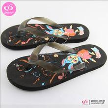 2015 New style promotional cheap flip flops comfortable beach flip flops fashion lady flip flops