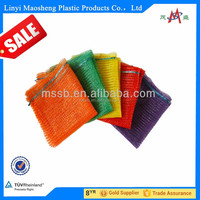 high quality mesh bag/net packing for vegetable,fruit,firewood made in china