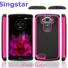 Shockproof Heavy Duty Tough Hybrid Rubber Silicone TPU Football Skin Back Cover Hard Case for LG VS880 G Vista