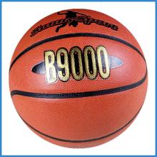 pvc leather training quality basketball size 7