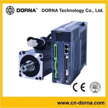 DORNA Replace YASKAWA servo motor driver 60mm Flange 220V 0.4KW/3000RPM/1.27N*M/17Bite Encoder