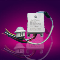 Manufacturers supplying dc 12-24V pir infrared sensor human body induction motion switch