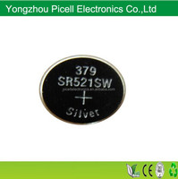 SR521sw 379 Silver Oxide Button Cell SR521 1.55v Watch Battery