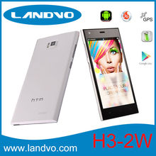 5.0 inch MTK6572 Dual Core HTM Mobile Phone Dual Sim Card 1.3GHz Android 4.2