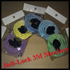 Jieli Shoelaces Type and Round Feature Lock Shoe Laces Reflective Elastic Shoelace