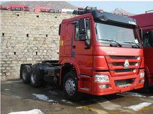 Carro del tractor de HOWO 6x4 camión tractor, camión tractor venta caliente