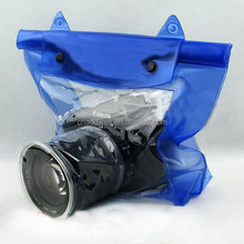 Fashion PVC waterproof camera bag for swimming
