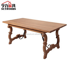 French style furniture Vintage Victorian oak Table