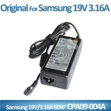 CE RoHs FCC approved factory sell laptop adapter parts 19v 3.16a 60w 3.0*1.1mm for Samsung