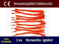 3m fireworks electric igniter, electric match, 1000pcs/carton,CE passed fireworks igniter to USA, EUROPE, wholesale igniter