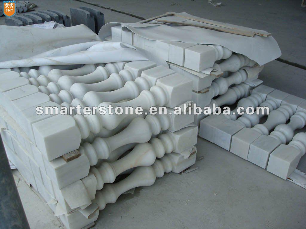 balustrade de marbre blanc jardin balustrade pierre balustrade rampes et mains courantes id. Black Bedroom Furniture Sets. Home Design Ideas