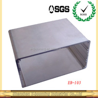 custom cheap aluminum extrusion enclosures 110*58mm(W*H)