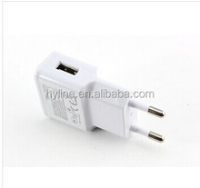 hot sale use for mobile phone Dual USB wall charger 5V 2A