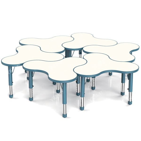 heureux enfants hauteur r glable tude de table tables en plastique id de produit 579528825. Black Bedroom Furniture Sets. Home Design Ideas