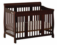 High qaulity modern solid pine wooden design baby cot, multi-purposes baby crib sleeping nursery baby beds for kid furniture