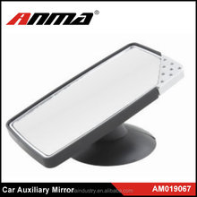 Car Side Rear View Blind Spot Auxiliary Mirror Black
