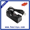 China supplier e cigarette 18650 18350 battery charger with uk plug