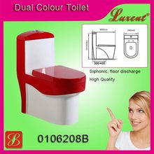Colorful shampooing room siphonic single flush Toilet