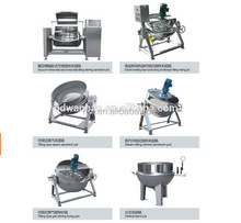 Rice processing sterilizing cooking kettles