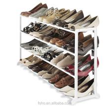 4 layes 20 pair free standing shoe boot rac cabinet rack shelf