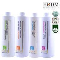 Selling well products Brazilian keratin hair treatment with GMPC