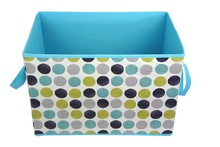 Open large container home storage fabric boxes storage
