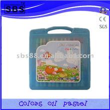55 color oil pastel sticks/set/paint