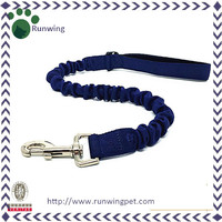 Durable Spring Bungee Retractable Dog Leash for Running