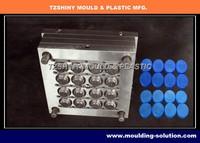 16 cavity plastic cap mold making