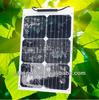18w bendable semi-flexible solar panel cell