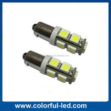 BA9S T4W 9SMD 5050 auto led rear light