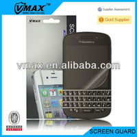 Mobile phone screen guard for Blackberry q10 oem/odm